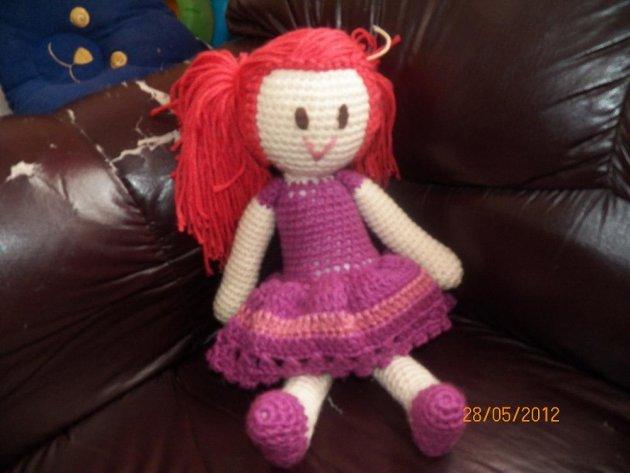 Muñecas tejidas al crochet - Imagui